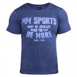 MM T-Shirt Cold Dye, Denim Blue