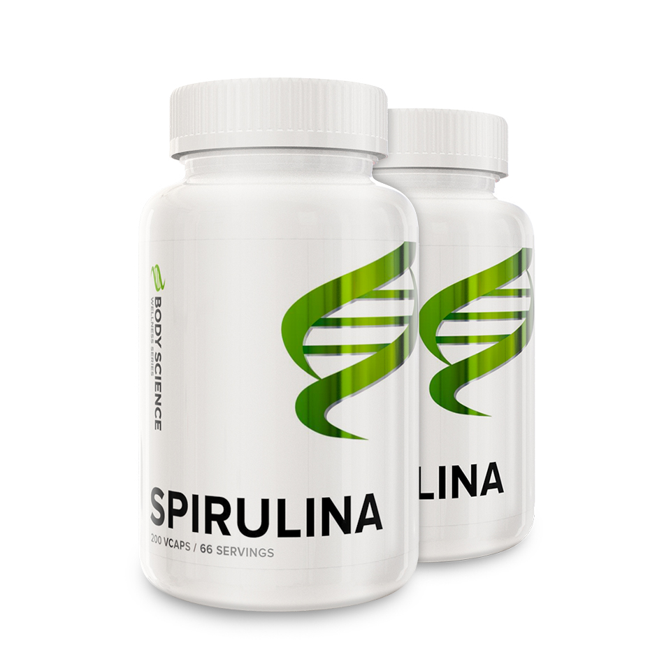 Body Science Wellness Series Spirulina 2 stk