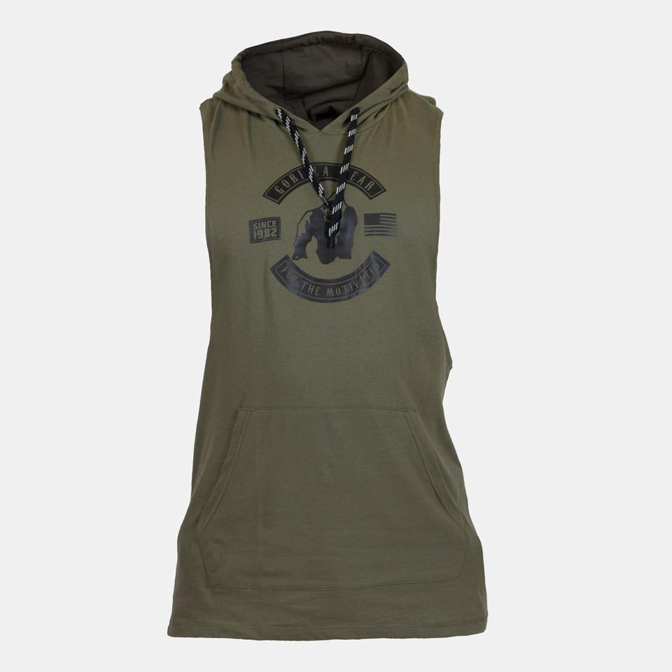 Gorilla Wear Lawrence Hooded Tank Top