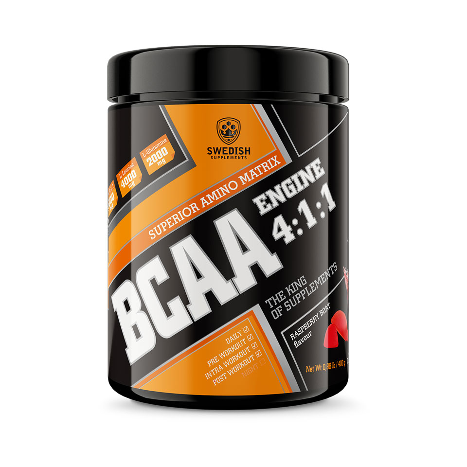 Swedish Supplements bcaa fra MM Sports