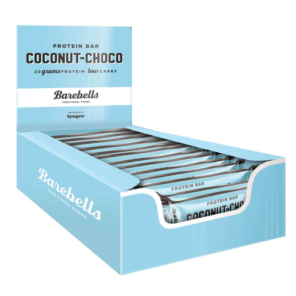 Barebells Protein Bar - 12st hel låda Coconut Choco