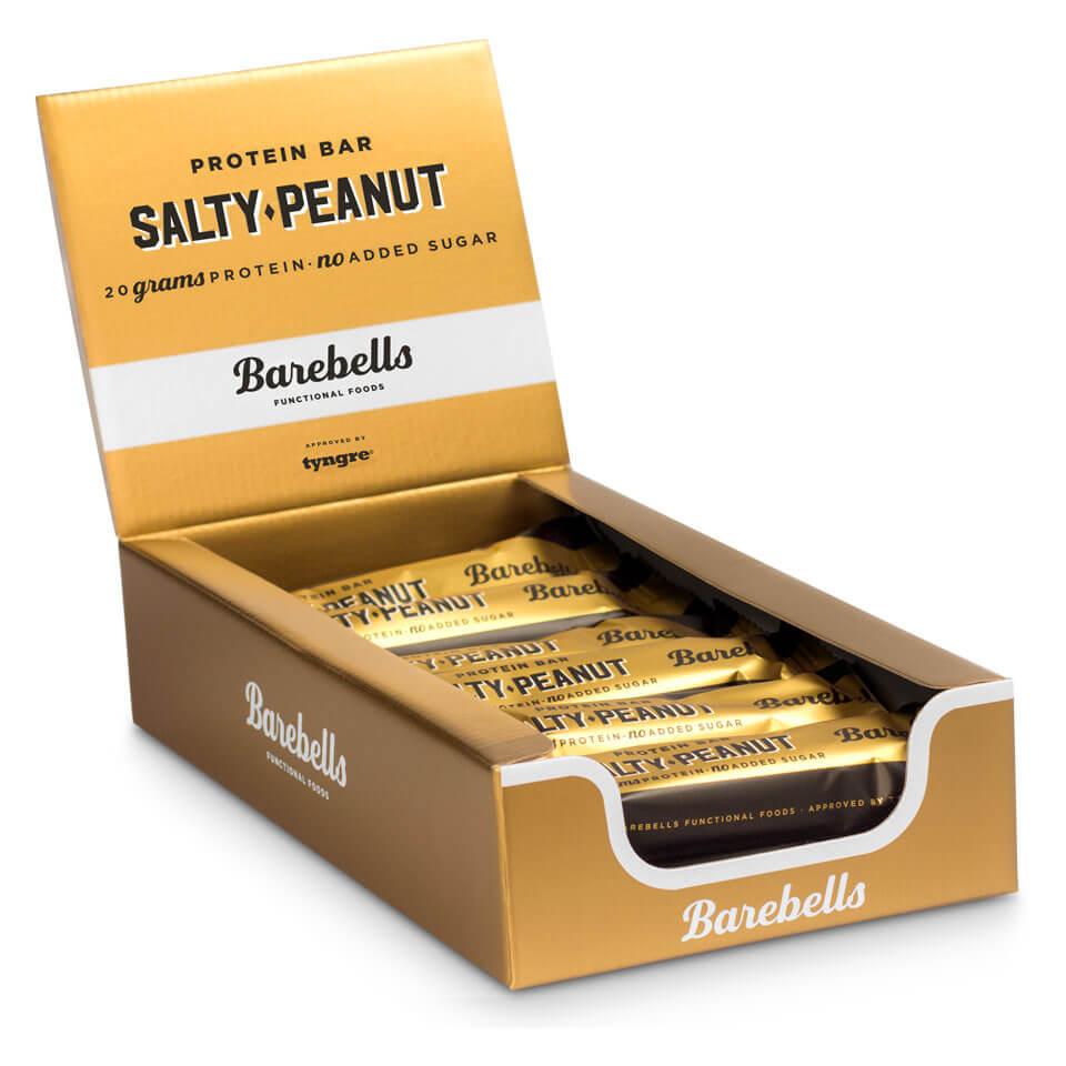 Barebells Protein Bar - 12st hel låda Salty Peanut