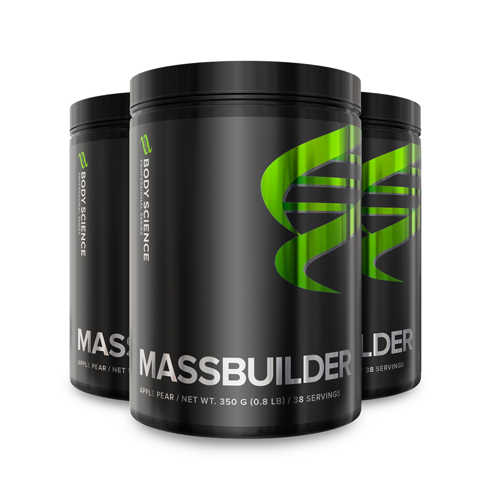 Body Science Professional Series Massbuilder 3 stk