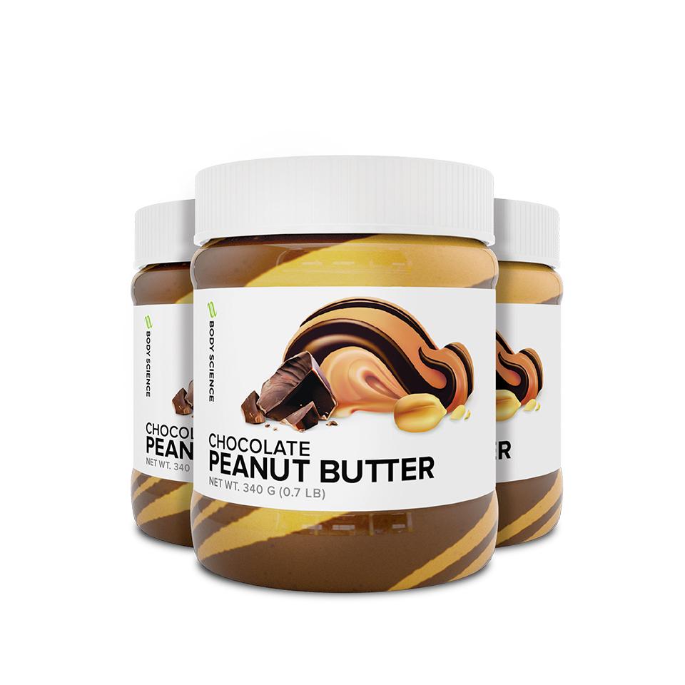 Chocolate Peanut Butter, 3 stk