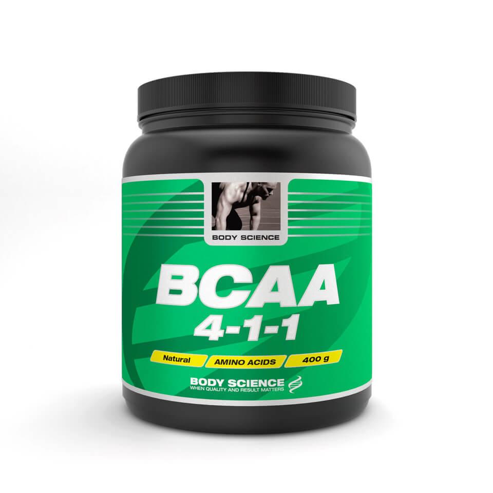 Body Science BCAA 4-1-1 Naturell