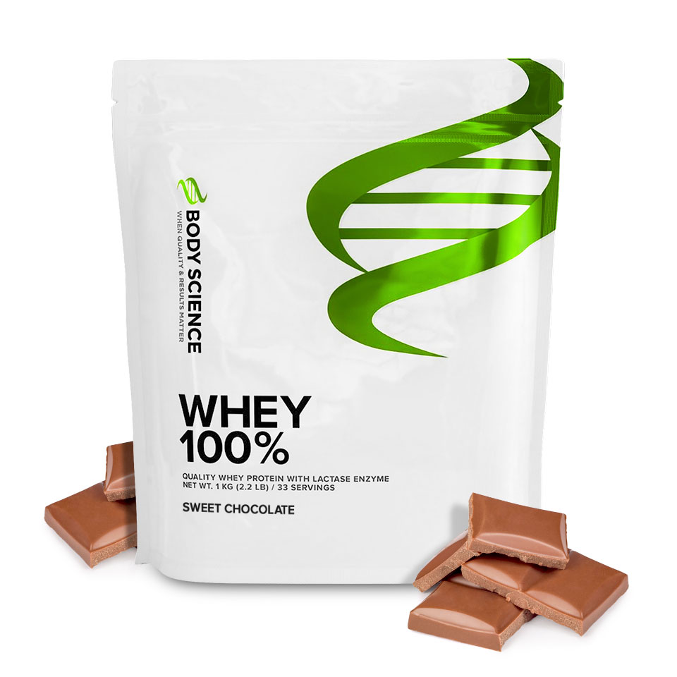 Body Science Whey 100% Sweet Chocolate