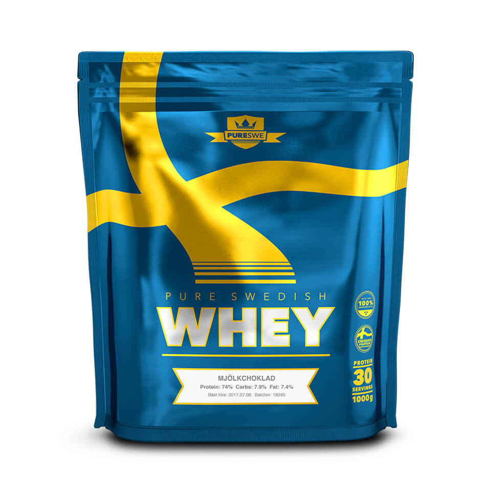 PureSwe Whey Mjölkchoklad