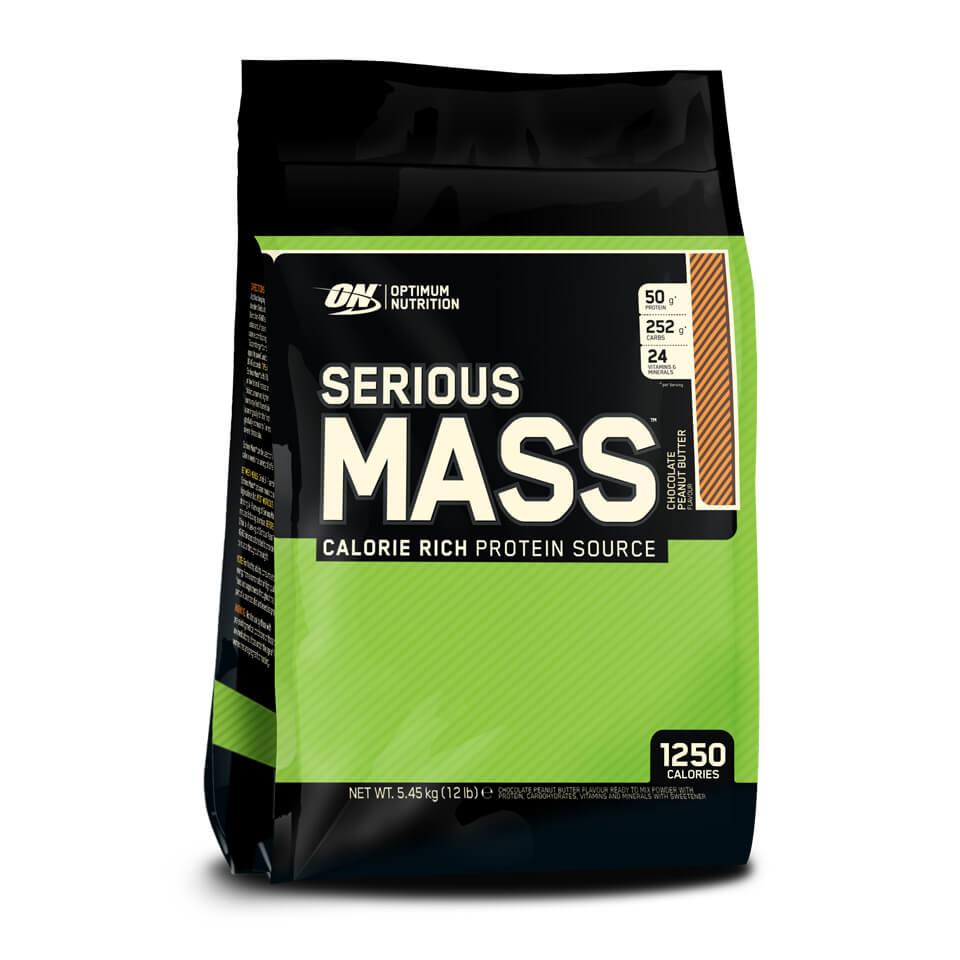Optimum Nutrition Serious Mass 5,45 kg Chocolate Peanut Butter