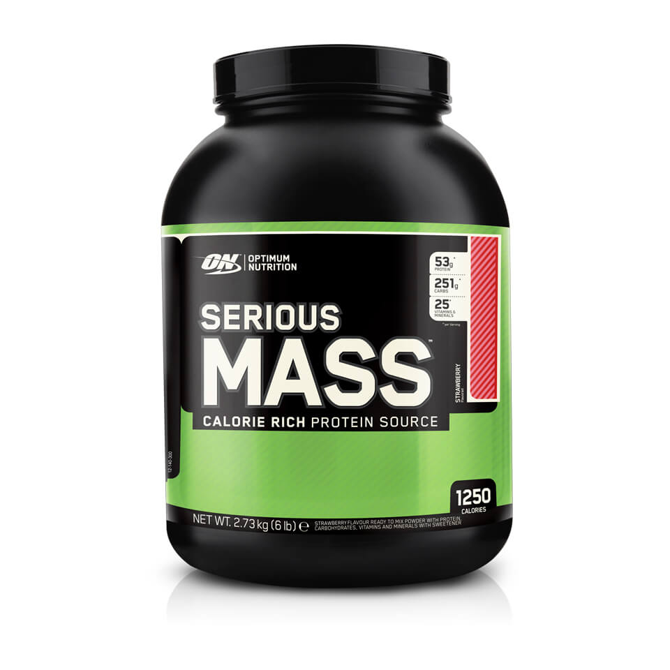 Optimum Nutrition Serious Mass 2,7 kg Strawberry