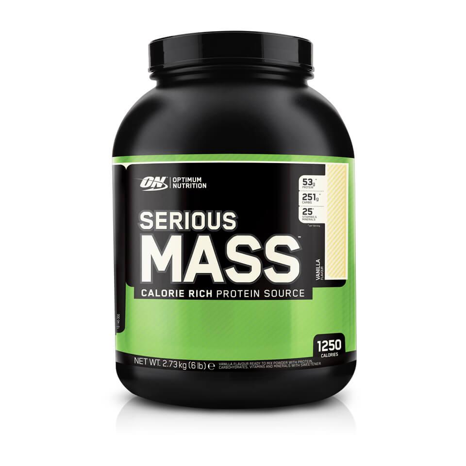 Optimum Nutrition Serious Mass 2,7 kg Vanilla