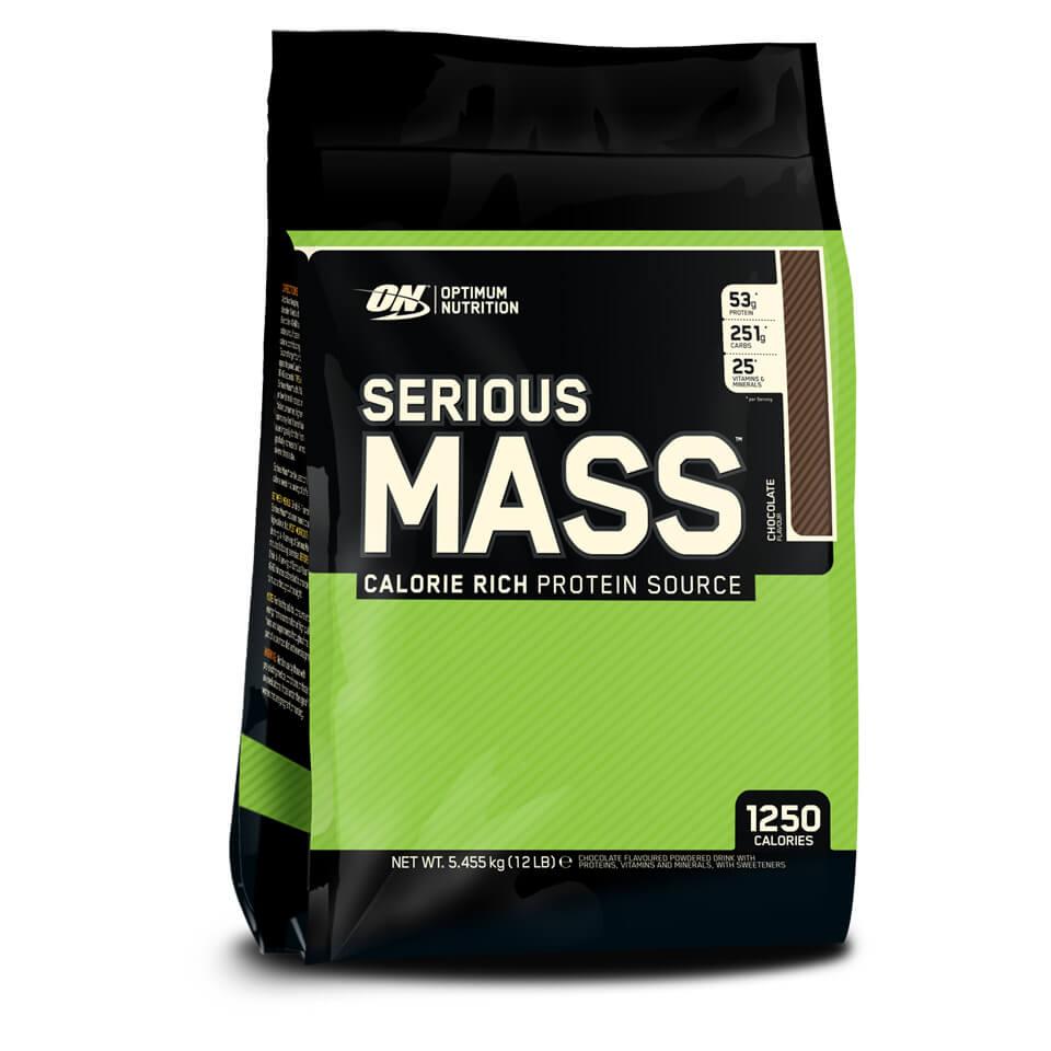 Optimum Nutrition Serious Mass 5,45 kg Chocolate