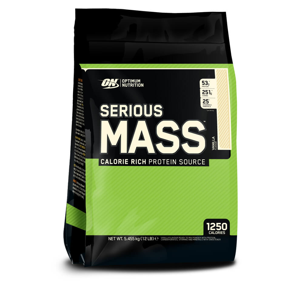 Optimum Nutrition Serious Mass 5,45 kg Vanilla
