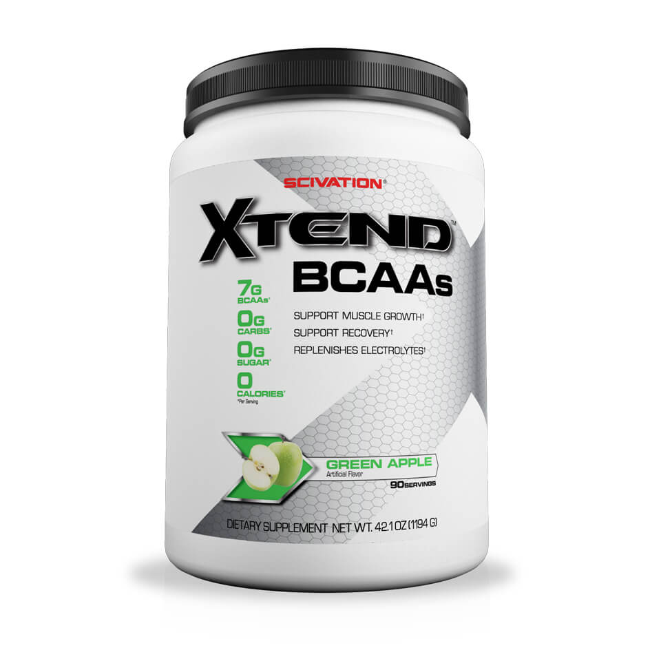 Scivation Xtend BCAA Green Apple 90 servings