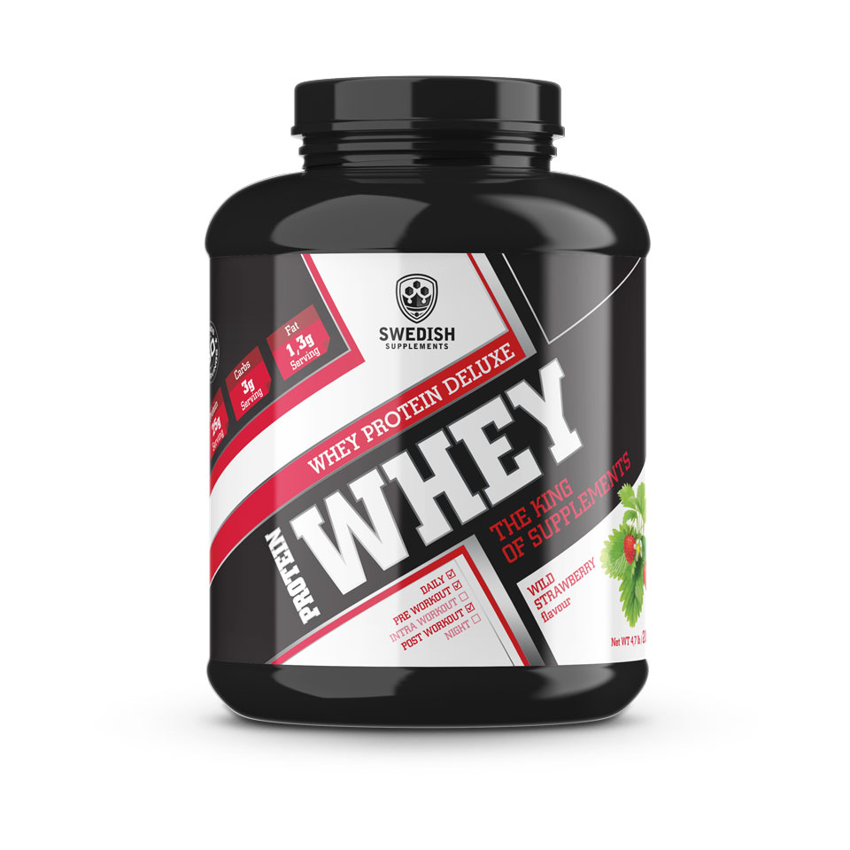 Swedish Supplements whey proteinpulver fra MM Sports