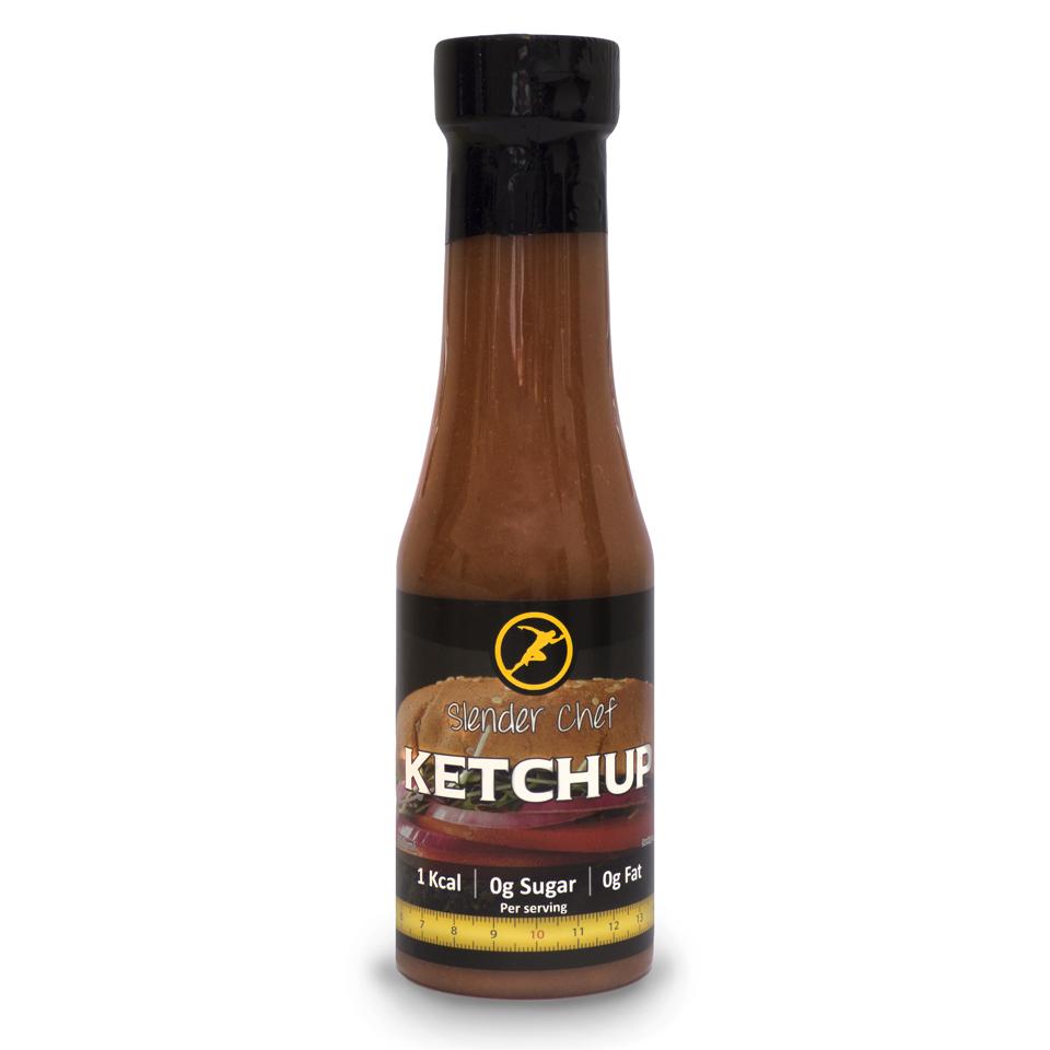 Slender Chef ketchup fra MM Sports