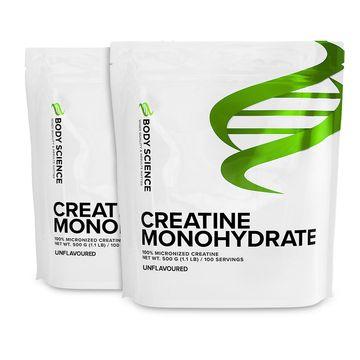 2 stk Creatine Monohydrate