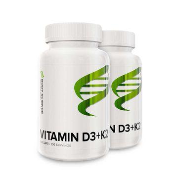 2 stk Vitamin D3+K2