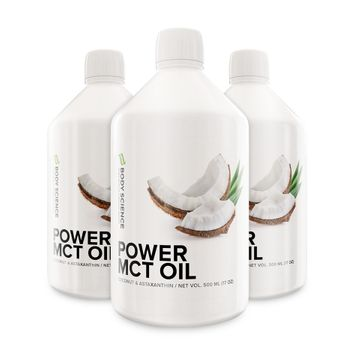 3 stk Power MCT Oil