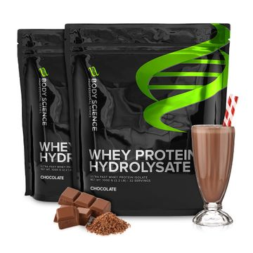 Whey Protein Hydrolysate, 2 stk