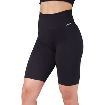 Seamless Lux Ribbed Biker Shorts