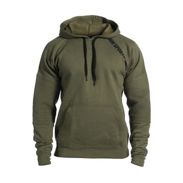 Basic Hoodie Christian, Army Green