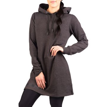 Charity Hoodie Dress, Dark Grey
