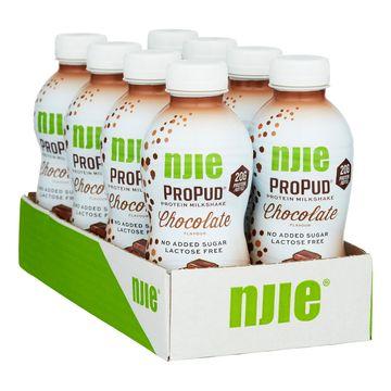 8 stk NJIE ProPud Protein Milkshake