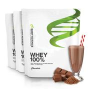 3 st Body Science Whey 100%