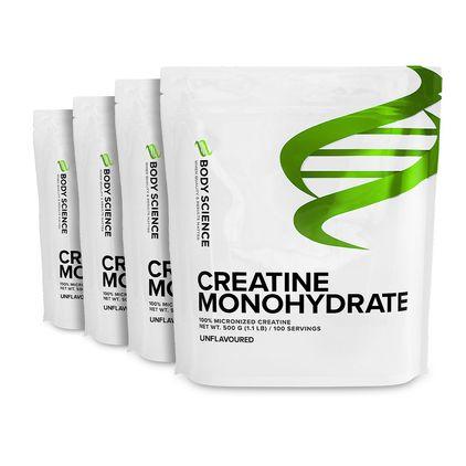 4 stk Creatine Monohydrate