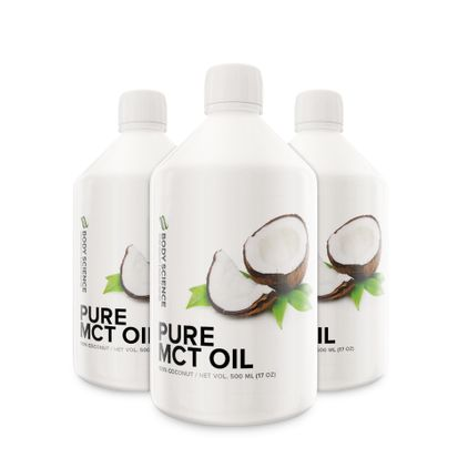Pure MCT Oil, 3 stk