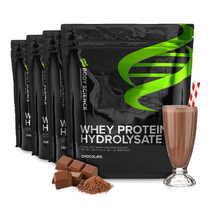 Whey Protein Hydrolysate, 4 stk