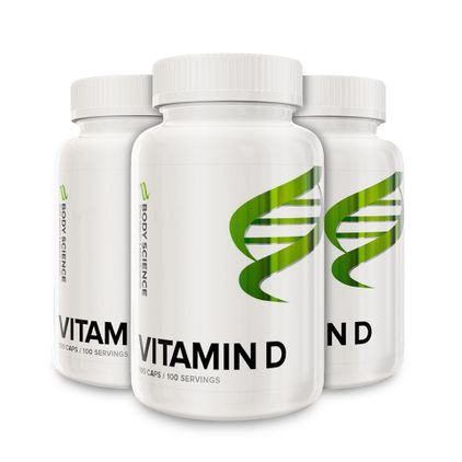 3 stk D-vitamin