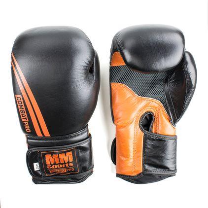 Boxing Glove, Black/Orange