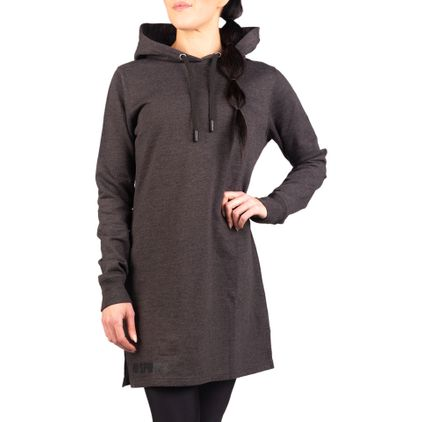 Charity Hoodie Dress, Dark Grey