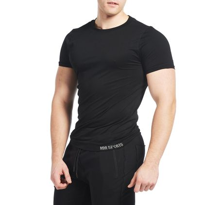 Seamless Colin T-shirt Black