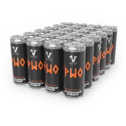 PWO Energidrik Flak 24-pack