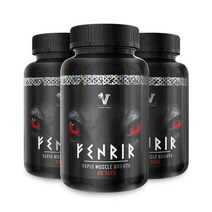 3 stk Fenrir Rapid Muscle Growth